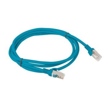 Пач кабел Lanberg PCF5-10CC-0150-B, FTP, cat.5e, 1.5м, син image