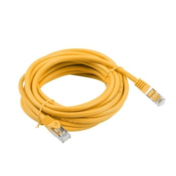 Пач кабел Lanberg PCF5-10CC-1500-O, FTP, cat.5e, 15м, оранжев image