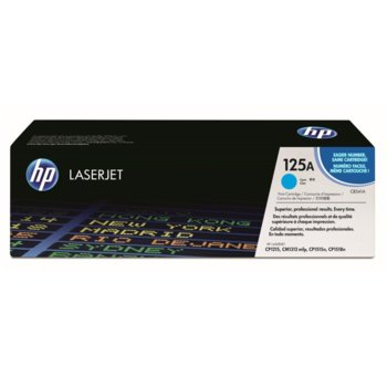 КАСЕТА ЗА HP COLOR LASER JET CP1215/1515N - Cyan - P№ CB541A - заб.: 1400k image