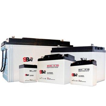 Акумулаторна батерия SBat SB12-7.0, 12V, 7Ah image