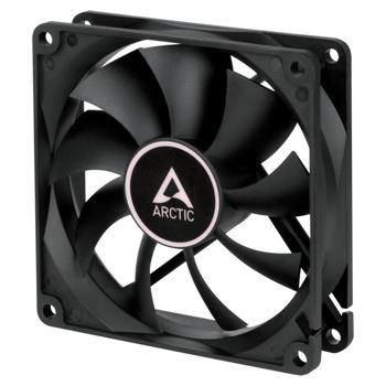 Вентилатор 92 mm, Arctic Fan F9 PWM PST, 4 пинов, 1800 rpm, черен image