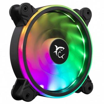 Вентилатор 120mm, SBOX PULSAR, Molex, 4-pin, 1100 rpm, RGB подсветка image
