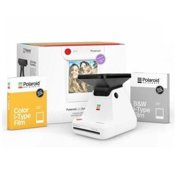 Комплект фото лаборатория Polaroid Originals Lab Everything Box с два филма - черно-бял и цветен image