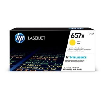 Касета за HP LaserJet Enterprise MFP M681, M682 - Yellow - P№ CF472X - Заб.: 23 000k image