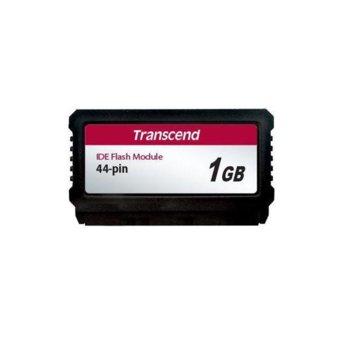 Карта памет 1GB Compact flash Transcend PATA PTM720 TS1GPTM720, PATA, SLC NAND Flash, скорост на четене 39 MB/s, скорост на запис 42 MB/s image