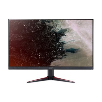 """Монитор Acer Nitro VG220Qbmiix (UM.WV0EE.006), 21.5"""" (54.61 cm) IPS панел, Full HD, 1 ms, 100 000 000:1, 250cd/m2, HDMI, VGA image"""