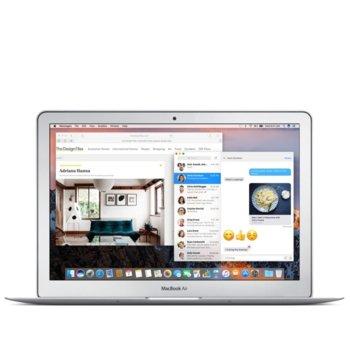"Лаптоп Apple MacBook Air 13 (Z0UU0004C/BG), сребрист, двуядрен Broadwell Intel Core i5-5350U 1.8/2.9GHz, 13.3"" (33.78 cm) WXGA+ LED Display, 8GB, 128GB SSD, 2x USB 3.0, macOS Sierra, 1.35kg image"