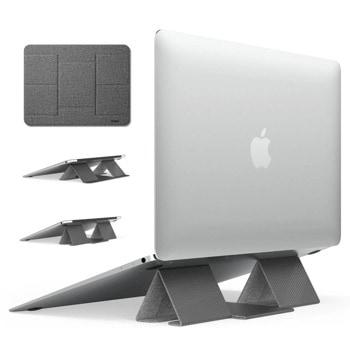 """Стойка за лаптоп Ringke Folding Laptop Stand 2 (ACST0011), до 17"""", сива image"""