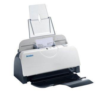 Скенер Avision Image Scanner Sheetfed AD125, 600 x 600 dpi, A4, двустранно сканиране, ADF, USB image