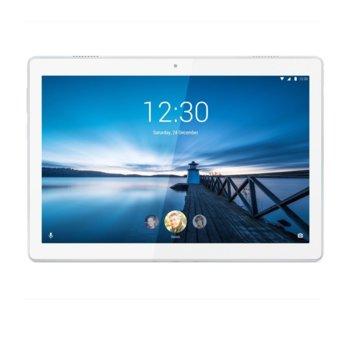 "Таблет Lenovo Tab M10 (ZA490054BG)(бял), 3G/4G, 10.1"" (25.65 cm) FHD IPS дисплей, осемядрен Qualcomm Snapdragon 450 1.8GHz, 3GB RAM, 32GB Flash памет, 5.0 & 2,0 Mpix камера, Android Oreo, 480 g image"