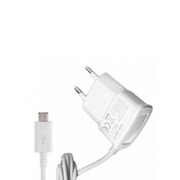 Зарядно устройство NMG-H002, от контакт към microUSB Type B(м), 5V, 2A, бяло image