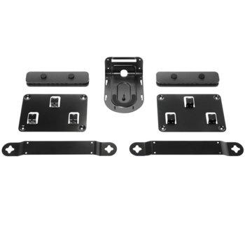 Стойки Logitech Rally Mounting Kit, за конферентна камера Logitech Rally Ultra-HD, черни image