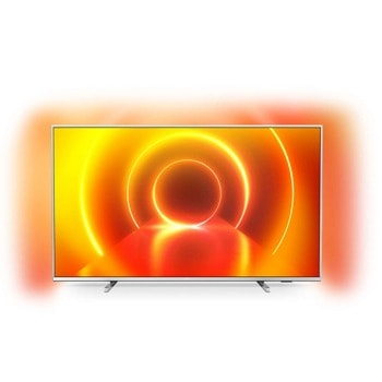 "Телевизор Philips 43PUS7855/12, 43"" (109.22 cm) 4K/UHD HDR Smart TV, DVB-T/T2/T2-HD/C/S/S2, LAN, Wi-Fi, Ambilight, 3x HDMI, 2x USB image"
