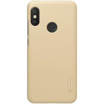 Калъф за Xiaomi Mi A2 Lite, калъф с твърд гръб, Nillkin, златист image