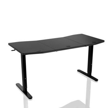 Компютърно бюро Nitro Concepts D16M, 160 x 80 cm, до 70 кг. натоварване, черно image