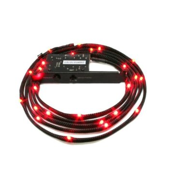 LED кабел NZXT, 2 м., червен image