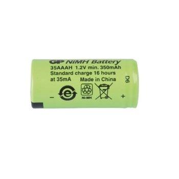 Акумулаторна батерия GP 35AAAH, 1/2 AAA, 1.2V, 350mAh, 1бр image