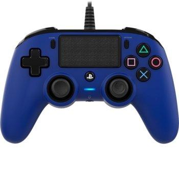 Геймпад Nacon Wired Compact, за PS4, син image
