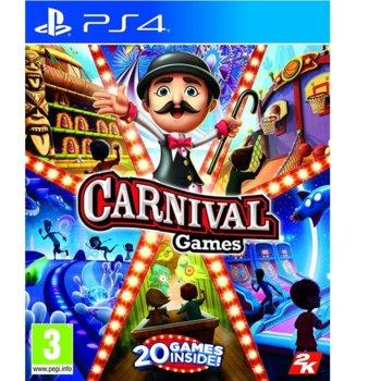Игра за конзола Carnival Games, за PS4 image