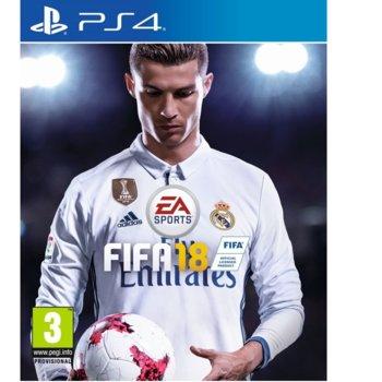 Игра за конзола FIFA 18 с подарък метална кутия, за PS4 image
