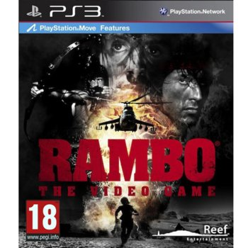 Игра за конзола Rambo: The Video Game, за PlayStation 3  image