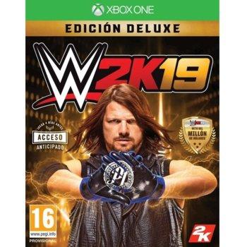 Игра за конзола WWE 2K19 Deluxe Edition, за Xbox One image