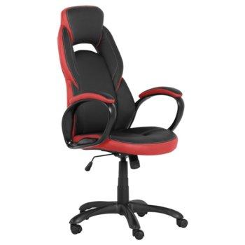Директорски стол Carmen 7511, черен/червен image