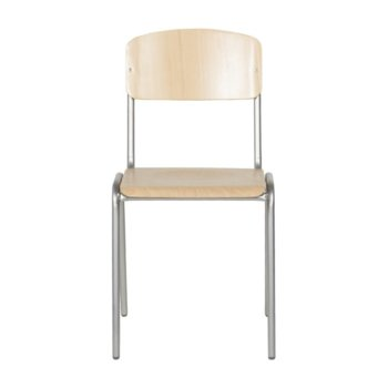 Дървен стол Carmen TASK, метал, дърво, кафяв image