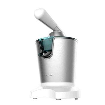 Цитруспреса Cecotec PowerAdjust 600 White, филтър с цедка, допълнителен филтър от неръждаема стомана, система против капене, 600W, сребристо-бяла image
