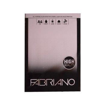 Копирен картон Fabriano, A4, 160 g/m2, светлорозов, 250 листа image