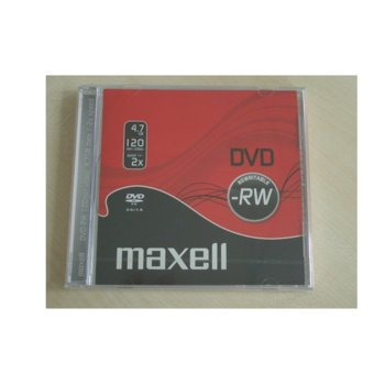 Оптичен носител DVD-RW media 4.7Gb, Maxell, 1 бр. image