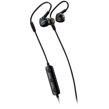 """Слушалки Canyon CNS-SBTHS1B, безжични, микрофон, тип """"тапи"""", спортни, черни image"""