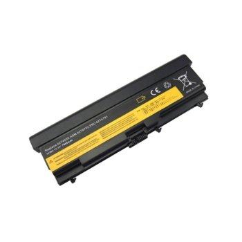 Батерия (заместител) за лаптоп Lenovo, съвместима с модели Thinkpad E40 E50 L410 L420 L520 SL410 SL510 T410 T510 T520 W510 W520, 9 cells, 11.1V, 7800mAh image