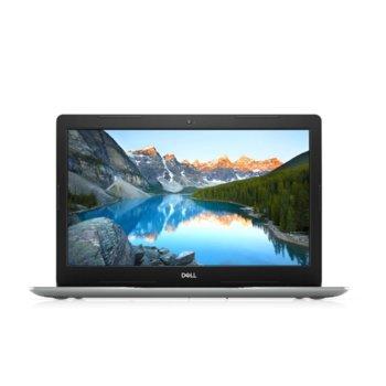 "Лаптоп Dell Inspiron 3593 (5397184373323)(сребрист), четириядрен Ice Lake Intel Core i5-1035G1 1.0/3.6 GHz, 15.6"" ( 39.62 cm) Full HD Anti-Glare Display & GF MX230 2GB, (HDMI), 4GB DDR4, 256GB SSD, 1x USB 3.1 Type-C, Linux  image"
