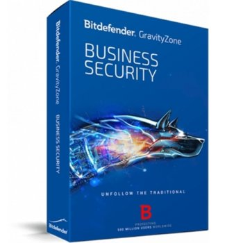 Софтуер Bitdefender GravityZone Business Security, 20 потребителя, 1 година image