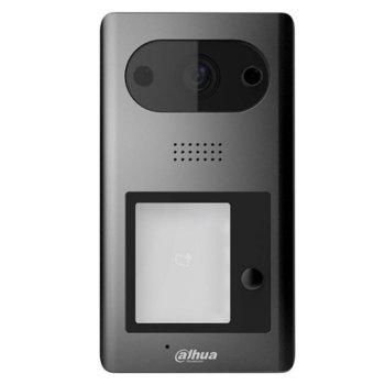 "Видеодомофон Dahua VTO3211D-P4-S2, за 4 абоната, ICR 1/2.8"" CMOS camera с вградена подсветка, 1x 10/100 Ethernet port, POE 802.3af, IP65/IK08 image"