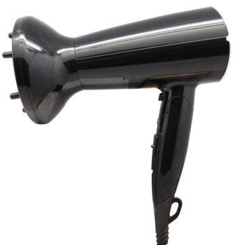 Сешоар Sapir SP 1100 CO, 1600W, дифузер, сгъваема дръжка, черен image