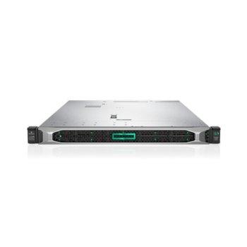 Сървър HPE DL360 G10 (PERFDL360-010_P02571-B21), 2x осемядрен Cascade Lake Intel Xeon Scalable 4208 2.1/3.2 GHz, 32GB RDIMM DDR4, No HDD, 4x 1GbE LAN, 5x USB 3.0, без OS, 2x 500W  image