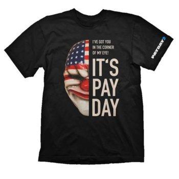 Тениска Gaya Entertainment Payday 2: Dallas Mask, размер M, черна image