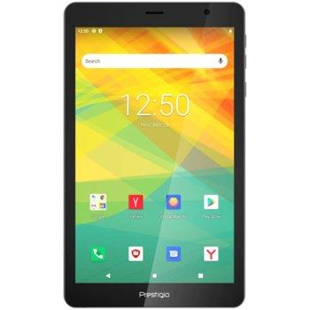 "Таблет Prestigio Node A8 (PMT4208_3G_E_EU)(сив), 3G, 8"" (20.32 cm) IPS дисплей, четириядрен Spreadtrum SC7731e 1.3 GHz, 1GB RAM, 32GB Flash памет (+microSD слот), 2.0 & 0.3 MPix камера, Android 10, 364 g image"