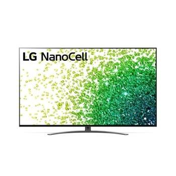 "Телевизор LG 50NANO863PA, 50"" (127 cm) 4K/UHD HDR Smart TV, 120Hz, DVB-T2/C/S2, LAN, Wi-Fi, Bluetooth, 3x HDMI, 2x USB image"