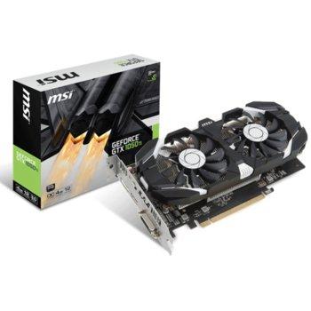 Видео карта nVidia GeForce GTX 1050 Ti OC, 4GB, MSI GTX 1050 Ti OC, PCI-E 3.0, GDDR5, 128bit, DisplayPort, HDMI, DVI image