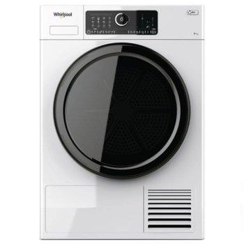 Сушилня Whirlpool STU92E, клас A++, 9 кг. капацитет, свободностояща, 6th Sense, FreshCare+, бяла image