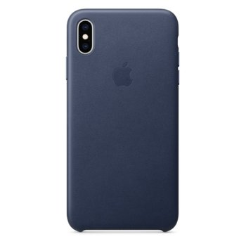 Apple iPhone XS Max Leather Case - Midnight Blue product