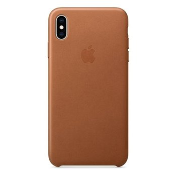 Apple iPhone XS Max Leather Case - Saddle Brown product