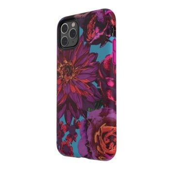 Калъф за iPhone 11 Pro Max, Speck Presidio Inked, поликарбонат, лилав/син image
