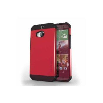 Протектор Zerolemon за HTC One M8, червен image