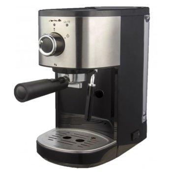 Еспресо кафе машина Аrielli KM-540BS, 15 bar-a, черна/инокс image