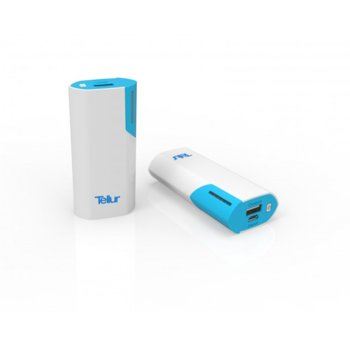 Външна батерия /power bank/ Tellur TL38A 5000mAh, бял  image