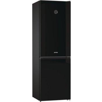 Хладилник с фризер Gorenje RK6192SYBK, клас E, 320 л. общ обем, свободностоящ, FrostLess, CrispZone, черен image